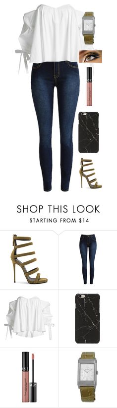 """Untitled #275"" by lexi4life646 ❤ liked on Polyvore featuring Giuseppe Zanotti, Caroline Constas, Sephora Collection and Jaeger-LeCoultre"