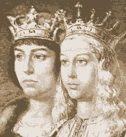 The Aragones king Ferdinand and Castile's Isabella got married, unifying two neighboring kingdoms into one. In those times it was not known as Spain yet, and it wouldn't be for a few years still, but it was the beginning of something great.15 th Century Spain