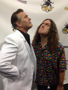 Bruce Campbell & Weird Al, um what? this is too good to be real