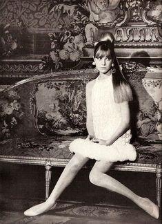 1966, Jane Birkin - Vogue - photographed by Norman Parkinson. @thecoveteur
