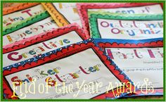 Find the perfect award for EVERY student in your class!  61 unique awards that your kids will love to get.$