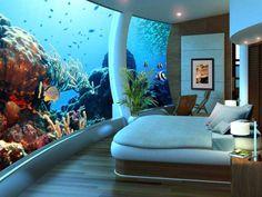 Hotel submarino Poseidon Undersea Resort