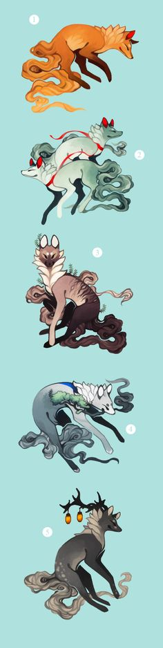 Wild Animal Art Drawings Character Design Ideas For 2019 Pet Anime, Anime Art, Fantasy Kunst, Fantasy Art, Fantasy Creatures, Mythical Creatures, Animal Drawings, Cool Drawings, Character Inspiration