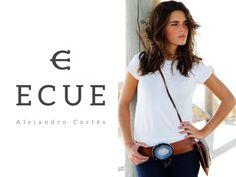 Cinturón Ágata Maxi, Bolso Ágata Piccolo Potro y Camiseta de Ecue www.ecue.es