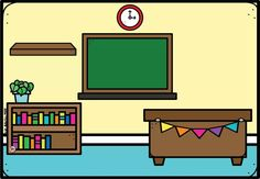 Classroom Background, Frame Layout, Powerpoint Background Design, Borders For Paper, School Colors, Free Coloring Pages, Ideas Para, Preschool, Clip Art