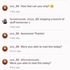 Shady Seller! Lied to me and them blocked me.  Shady seller! The top picture shows our conversation. She lied about mailing item next day. Then refused to answer my question and then blocked me for it.  Blocked me for wanting to know when she was going to mail it?! Seriously?? Bad business bro. Just want to warn others about this shady chick. She had good customer reviews to, smh. I got tricked. Other