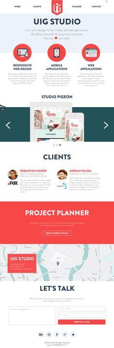 UIG Studio - Mobile / APPS, Web / Interactive - Flat UI Design Trends