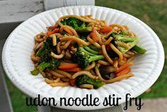 udon noodle stir fry with vegetables recipe