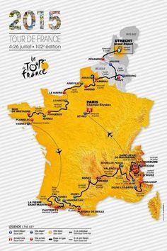 TOP 5 - BICICLETAS DE CARRETERA: El Tour de Francia  se ESPAÑOLIZA