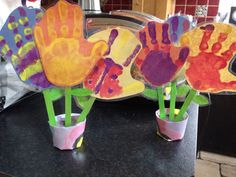 Our Mother's Day handprints