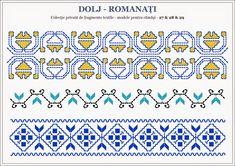 Semnele cusute - Un alfabet care vorbeste despre noi Embroidery Sampler, Folk Embroidery, Embroidery Patterns, Cross Stitch Patterns, Knitting Patterns, Bargello, Hama Beads, Beading Patterns, Pixel Art
