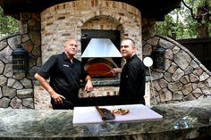 Frank Ferro (L), Owner, Ferro and Geoff Brown (R) Exec Chef