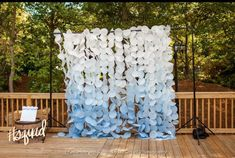 40 Creative Paper Garland Ideas for Weddings |  #bunting #decor #decorations #etsy #etsywedding #fabric #flags #flowers #garland #greenery #hanging #paper #papergarland | paper garland wedding