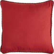 Reversible Pillow - Green/Red