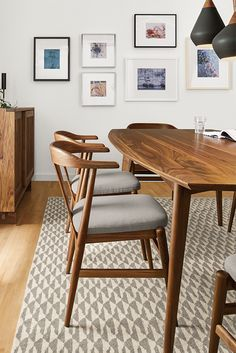 19 Best Wood Dining Chairs Images