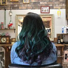 WEBSTA @ tetuco8000 - お気に入りの髪色😊🤙今回はインナーカラーをパープルに💈でも シャンプーする度に手が…お風呂場が…#kakogawa_rudebwoy_cuthouse_comeagain #💈#kkgw #haircolor #マニパニ #manicpanic #enchantedforest + #innercolor #purplehaze #thx #😊 #🤙 #手は河童 #シャンプー大変 w #igdaily #igtoday #igers #ig_japan #vsco #vscocam #色見本はキチンと見ましょう ←