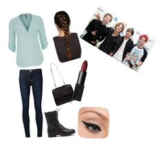 """""""Untitled #2"""" by maggie-wilson-i on Polyvore featuring Frame Denim, maurices, LORAC and NARS Cosmetics"""