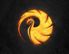 "Logo Design & Wallpaper for DJ & Producer ""Phoenix"" Phoenix Artwork, Phoenix Images, Game Logo Design, Brand Identity Design, Branding Design, Corporate Branding, Tribal Wolf Tattoo, Lion Illustration, Phoenix Design"