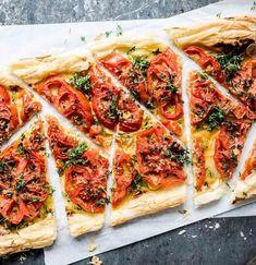 Blätterteig-Tarte mit Tomaten