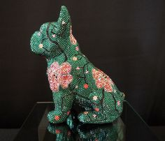Dinosaur Stuffed Animal, Pink, Handmade