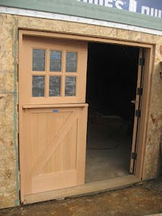 Itu0027s A Double Dutch Door We Had Made By Real Carriage Doors .