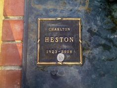"""Charlton Heston - Star of many epic movies, including """"Ben-Hur"""", """"The Ten Commandments"""", and """"The Planet of the Apes"""" by kristie"""
