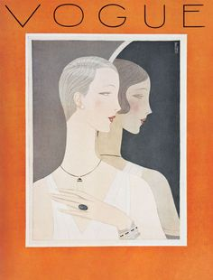 Vogue, April 1926. Illustration: Eduardo Garcia Benito.