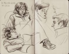 from the moleskine by Allison Reimold, via Behance
