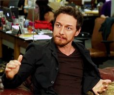 lprock ... I'M REAL, never like this before : swellfishy:   James McAvoy atHUFFPOST LIVE Q&A