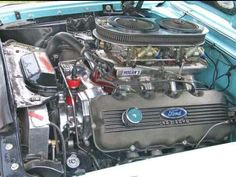 Ford 427 SOHC Cammer found in mike jacksons 1962 galaxie Maintenance of old vehicles: the material for new cogs/casters/gears/pads could be cast polyamide which I (Cast polyamide) can produce Car Engine, Motor Engine, Performance Engines, Race Engines, Old Fords, Ford Fairlane, Us Cars, Drag Cars, Diesel