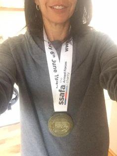 Congratulations Jenny! A D-Day Race Finisher.