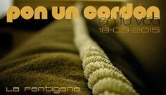 La Pantigana: PON UN CORDÓN EN TU VIDA (tutorial)