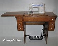Pin On Singer Sewing Machine Table