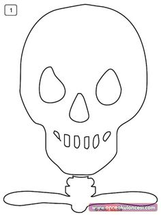 GCC Games Crafts Coloring - PARTIES - HALLOWEEN - Halloween party ideas, Halloween crafts, Halloween decoration, a large printable skeleton, make an unforgettable Halloween surprise! The Human Body, Human Body Science, Halloween Quilts, Halloween Crafts, Halloween Party, Skeleton Template, Skull Template, Human Body Crafts, Science Activities For Kids
