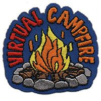 Diy Patches, Cool Patches, Cub Scouts, Girl Scouts, Cub Scout Skits, Girl Scout Fun Patches, Cub Scout Crafts, Campfire Fun, Kids Activities At Home