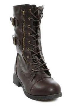 Combat Boot w. Buckles