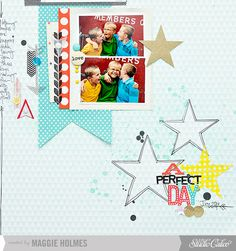 A Perfect Day - Studio Calico Dec Kits : Gallery : A Cherry On Top