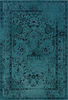 Revive 6.7 x 9.6 Area Rug : Blue by Oriental Weavers