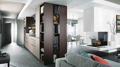 Kitchens Mobalpa MOBALPA Warrington : Open hours and informations of your kitchen store Kitchen Gallery, Kitchen Store, Cuisines Design, Locker Storage, Bronze, Architecture, Furniture, Home Decor, Central
