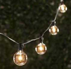 the lights make the party. | Special Occasions | Pinterest | Globe ...