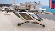 Flying car: Jetpack company developing cool new electric VTOL flying car - YouTube