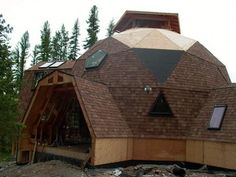 Pictures and ideas of Domes built using the geodesic dome plans