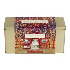 Christmas 3 Small Jar Giftset (850 UYU) ❤ liked on Polyvore featuring home, home decor, christmas gift sets, christmas home decor and christmas jars