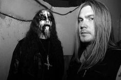Gaahl of Gorgoroth (ugh...) and Nocturno of Darkthrone.