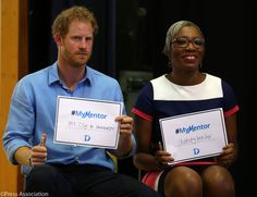 """Kensington Palace on Twitter: """"At today's #MyMentor session Prince Harry spoke…"""