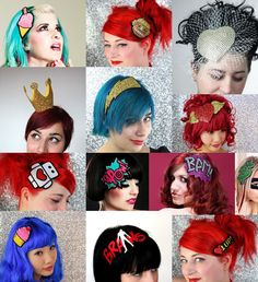 Comic Book and Video Game Headbands | When Geeks Wed