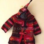 Kim's Colourway - beautiful handmade coat