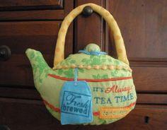 tea pot pillow
