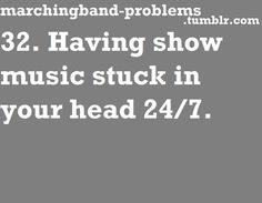 Marching Band Problems, and for me even though Im not in a marching band, still a problem lol - Are You DrumCorpsReady.com