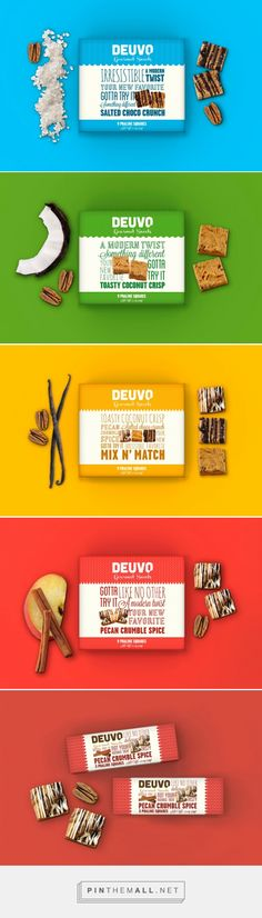 Deuvo gourmet sweets by Beatrice Menis and Mara Rodriguez. Pin curated by #SFields99 #packaging #design